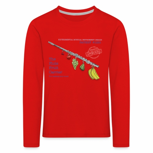 Experimental Musical Instruments - Flute Fruit - Kids' Premium Longsleeve Shirt