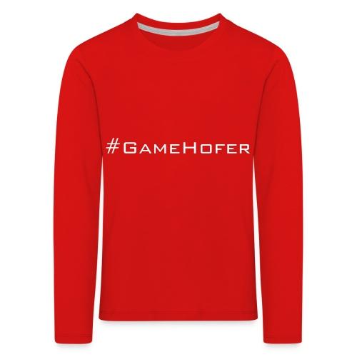 GameHofer T-Shirt - Kids' Premium Longsleeve Shirt
