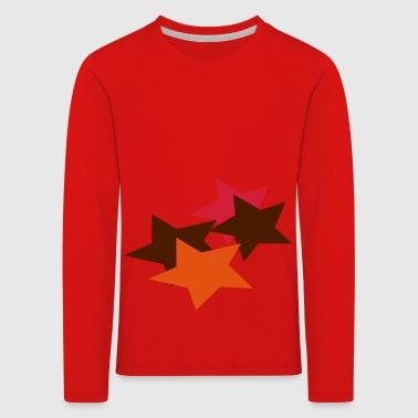Stars - Kids' Premium Longsleeve Shirt