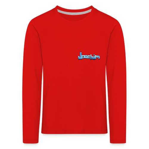 Joachim - Kinderen Premium shirt met lange mouwen