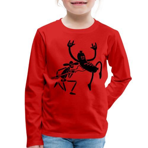Wurst und Kauboi - Kinder Premium Langarmshirt