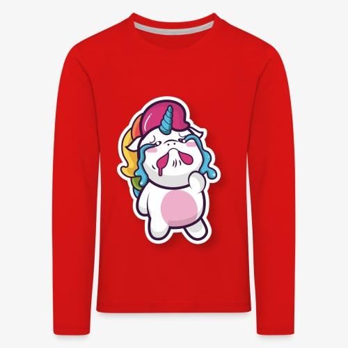 Funny Unicorn - Kids' Premium Longsleeve Shirt