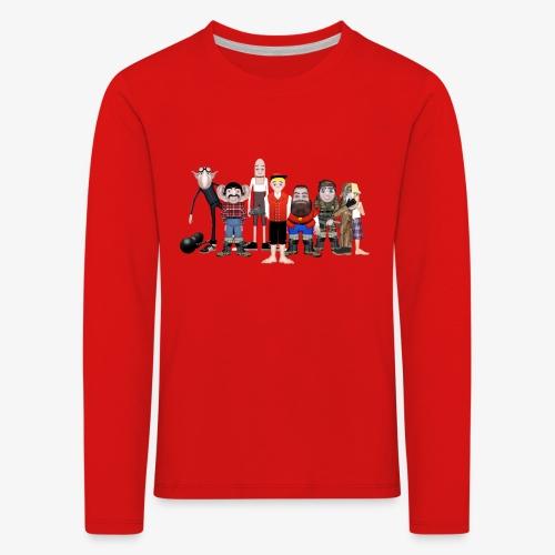 Askeladden og de gode hjelperne - Premium langermet T-skjorte for barn