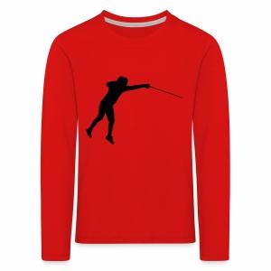 Jumping Fencer - Kinder Premium Langarmshirt
