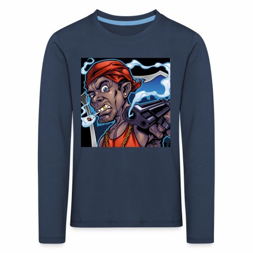 Crooks Graphic thumbnail image - T-shirt manches longues Premium Enfant