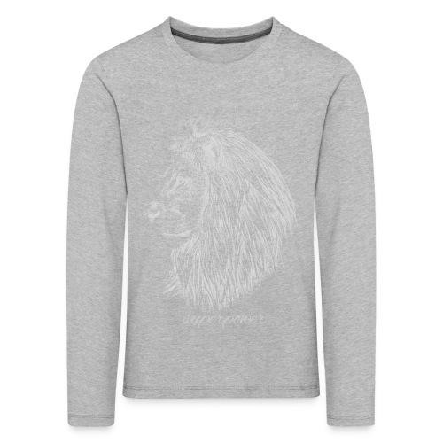 Calmness is a superpower - Maglietta Premium a manica lunga per bambini