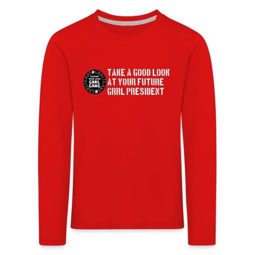President - Kids' Premium Longsleeve Shirt