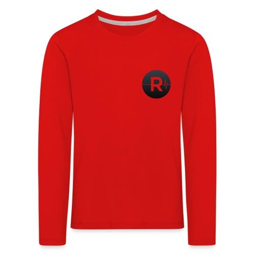 REVIVED Small R (Black Logo) - Kids' Premium Longsleeve Shirt