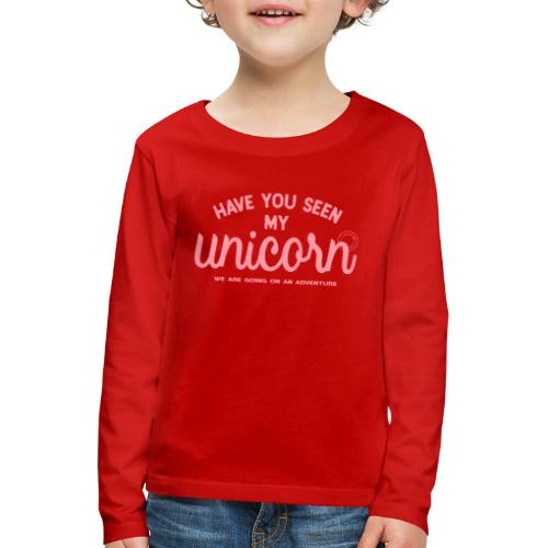 Unicorn pink - Kids' Premium Longsleeve Shirt