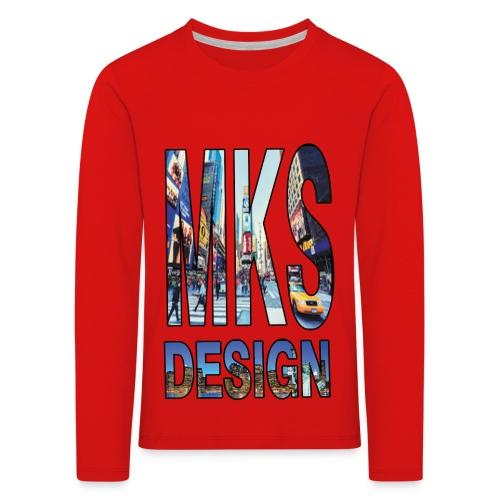 MERKOS modelo 3 - Camiseta de manga larga premium niño