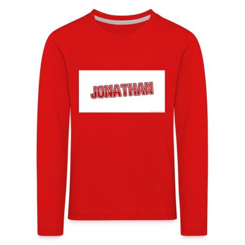 Jonathan - Långärmad premium-T-shirt barn