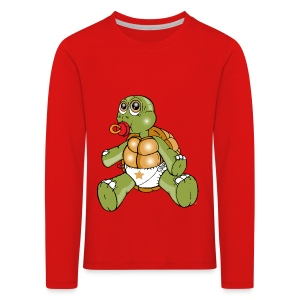 TURTLE TODDLER - Kids' Premium Longsleeve Shirt