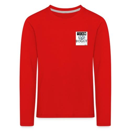 Team doggy fußball - Kinder Premium Langarmshirt