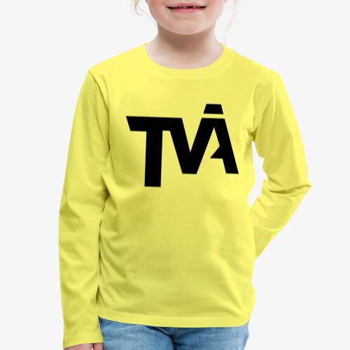 TVÅHUNDRA - Långärmad premium-T-shirt barn