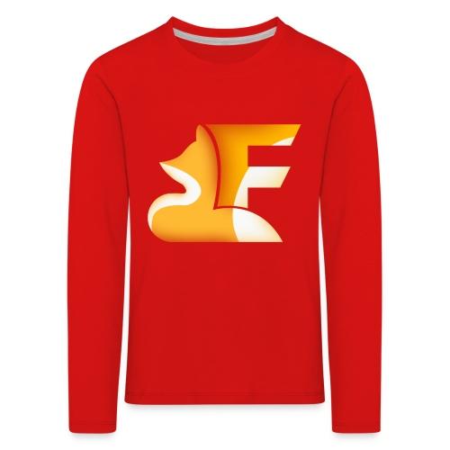FoxChannel LOGO - Maglietta Premium a manica lunga per bambini