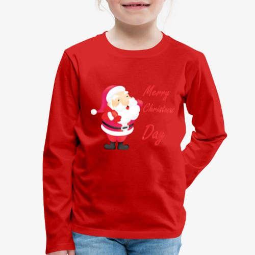 Merry Christmas Day Collections - T-shirt manches longues Premium Enfant