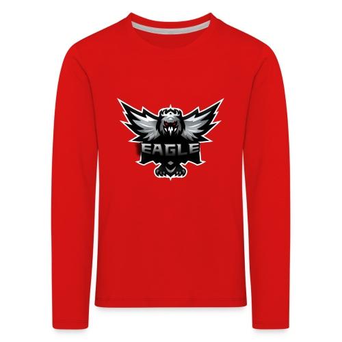 Eagle merch - Børne premium T-shirt med lange ærmer