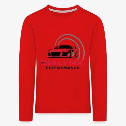 Dialynx Performance Race Team White Range - Kids' Premium Longsleeve Shirt