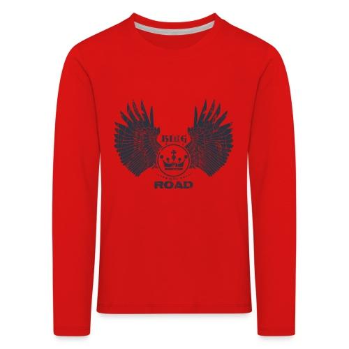 WINGS King of the road dark - Kinderen Premium shirt met lange mouwen