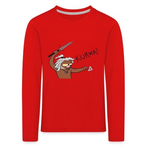 Noiduri - Lasten premium pitkähihainen t-paita