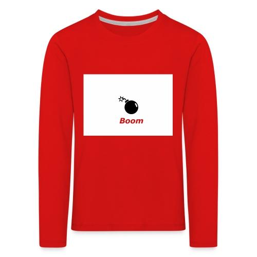 Bomba - Koszulka dziecięca Premium z długim rękawem
