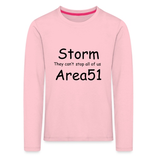 Storm Area 51 - Kids' Premium Longsleeve Shirt