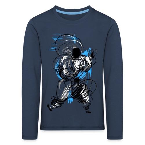 Kung Fu wizard - Kids' Premium Longsleeve Shirt