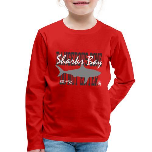Sharks Bay - Kinder Premium Langarmshirt