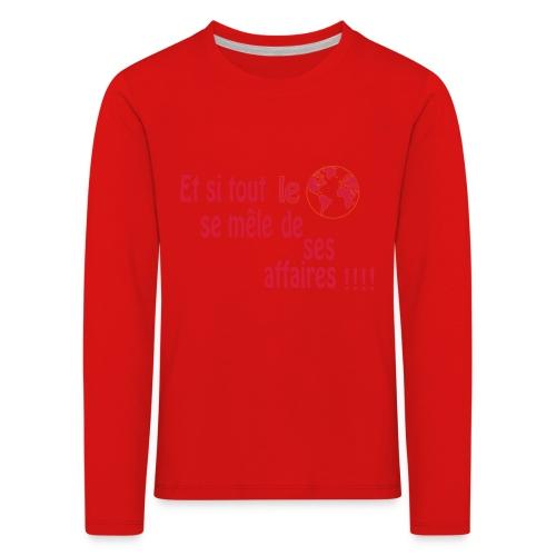 BNT création - T-shirt manches longues Premium Enfant