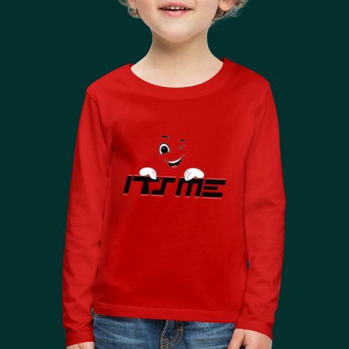 Faccia che ride - Maglietta Premium a manica lunga per bambini