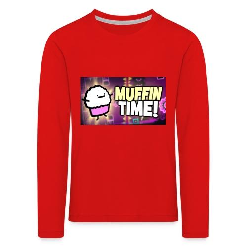 Its Muffin Time 2 - Kinder Premium Langarmshirt