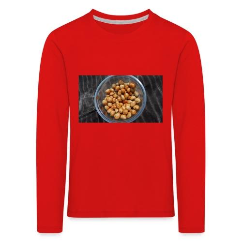 Cacahuate - Camiseta de manga larga premium niño