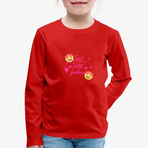 Fuck vad skit - Långärmad premium-T-shirt barn
