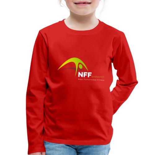 NFF Gymnastics - Kinder Premium Langarmshirt
