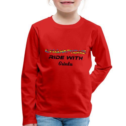 champions - T-shirt manches longues Premium Enfant
