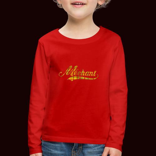 méchant madras - T-shirt manches longues Premium Enfant