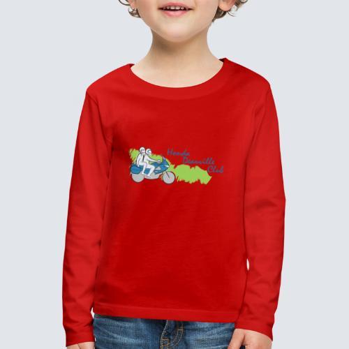 HDC logo - Kinderen Premium shirt met lange mouwen