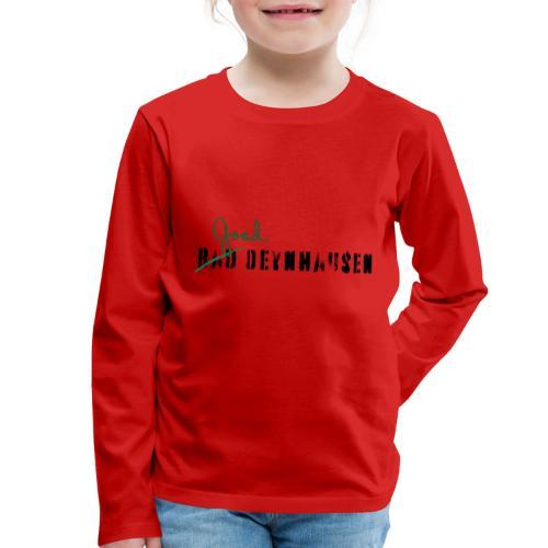 Good Oeynhausen - Kinder Premium Langarmshirt