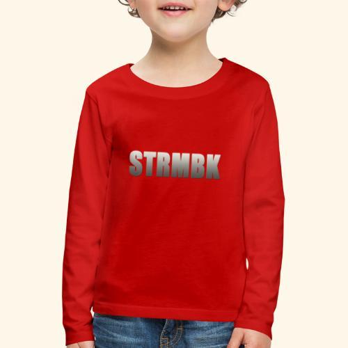KORTFILM STRMBK LOGO - Kinderen Premium shirt met lange mouwen