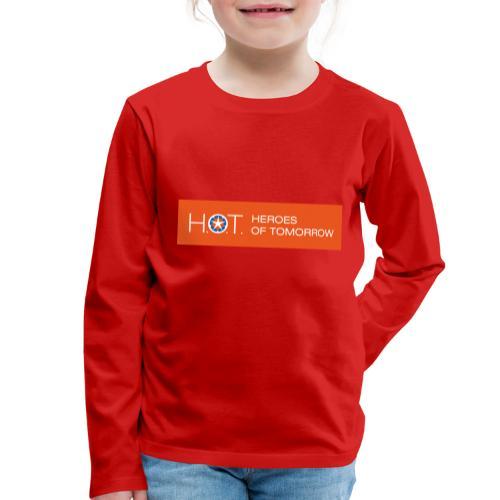 H.O.T. Logo - Kinder Premium Langarmshirt