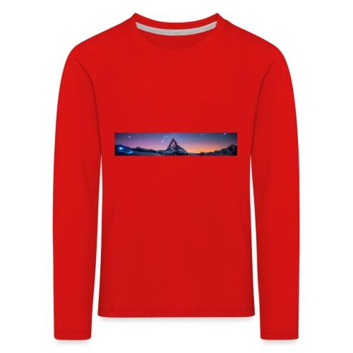 Mountain sky - Kinder Premium Langarmshirt
