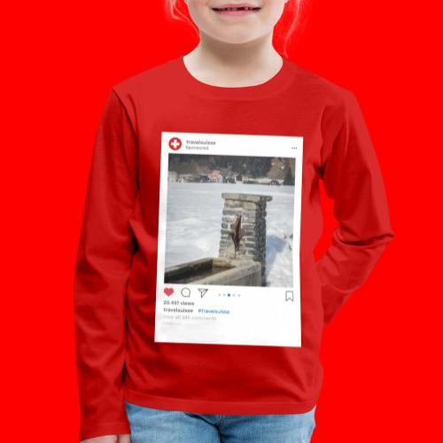 travelsuisse - Brunnen Trin - Kinder Premium Langarmshirt