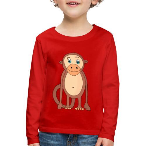 Bobo le singe - T-shirt manches longues Premium Enfant