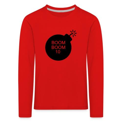 BOOMBOOM10 - Kids' Premium Longsleeve Shirt