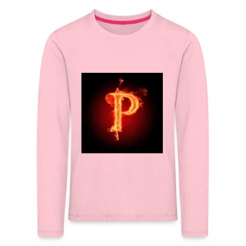 Power player nuovo logo - Maglietta Premium a manica lunga per bambini
