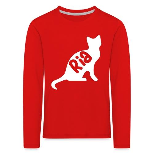 Team Ria Cat - Kids' Premium Longsleeve Shirt