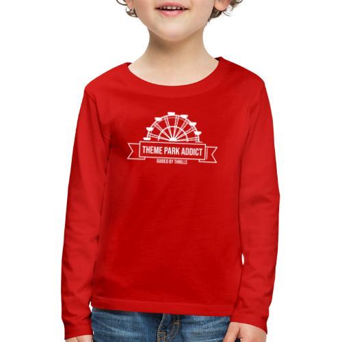 Insigne de parc à thème Addict - T-shirt manches longues Premium Enfant