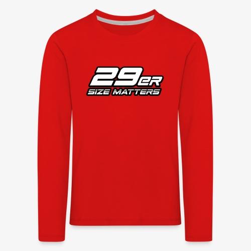 29er size matters - Kids' Premium Longsleeve Shirt