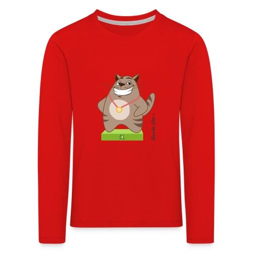 Die Nummer 1 - Sancho Cat © - Kinder Premium Langarmshirt