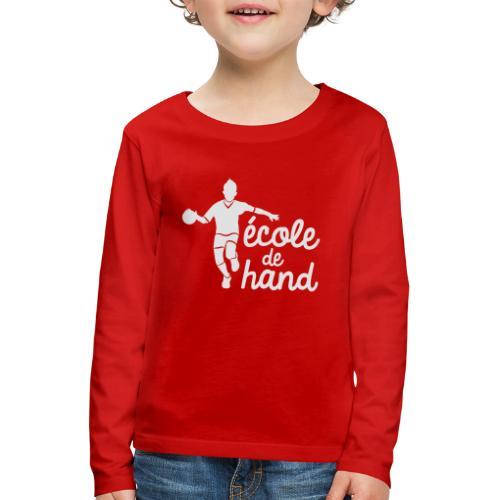 ECOLE HAND - T-shirt manches longues Premium Enfant